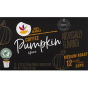 SB Coffee, Medium Roast, Pumpkin Spice, Single Serve Cups
