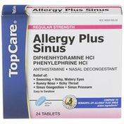 TopCare Allergy Plus Sinus