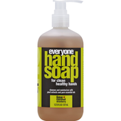 Everyone Hand Soap, Lime + Coconut Strawberry