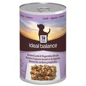 Hill's Science Diet Hill's Ideal Balance Braised Lamb & Vegetables Canned Adult Dog Food