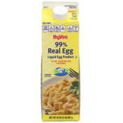 Hy-Vee 99% Real Egg Liquid Egg Product