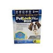 Petlock Plus for Dogs 89-132 lbs. Flea and Tick Flea and Tick Treatment