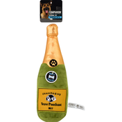 Companion Dog Toy, Seasonal, Champagne Bottle