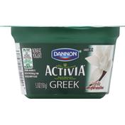 Activia Yogurt, Greek, Nonfat, Vanilla
