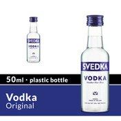 SVEDKA Vodka Mini Plastic Bottle