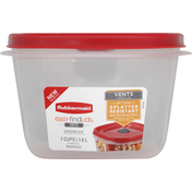 Rubbermaid Container & Lid, 1.6 Liters