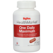 Hy-Vee Healthmarket, One Daily Maximum Multivitamin & Multimineral Supplement Tablets