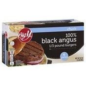 Big Y Black Angus Chuck Beef Burgers