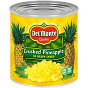 Del Monte Crushed Pineapple in Heavy Syrup