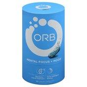 Orb Mental Focus + Mood, Liquid Capsules