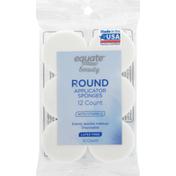 Equate Applicator Sponges, Round