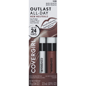 CoverGirl Lipcolor with Topcoat, Ripe Peach 110