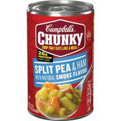 Campbell's® Chunky® Split Pea & Ham with Natural Smoke Flavor Soup