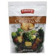 Fireside Croutons, Regular Cut, Cheesy Garlic