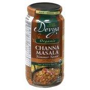 Devya Simmer Sauce, Mild Channa Masala
