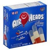Airheads Patriot Pops, Cherry, White Mystery?, Blue Raspberry