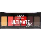 NYX Professional Makeup Shadow Palette, Petite, Phoenix USPP03