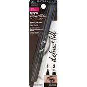 Maybelline Defining Pencil + Filling Powder, Deep Brown 260