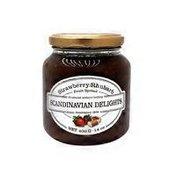 Scandinavian Delights Fruit Spread, Strawberry/Rhubarb