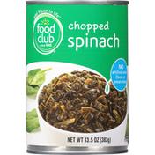 Food Club Spinach, Chopped