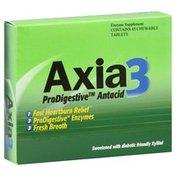 Axia 3 Antacid, ProDigestive, Chewable Tablets