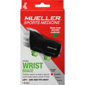 Mueller Wrist Brace, Fitted, Left, Maximum