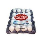 Golden Valley Natural Jumbo White Eggs