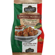 Cooked Perfect Meatballs, Homestyle, Bite Size