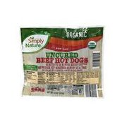 Simply Nature Organic Hot Dogs