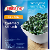 Birds Eye Creamed Spinach, Sauced