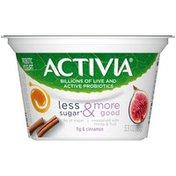 Activia Less Sugar & More Good Fig & Cinnamon Yogurt