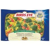 Birds Eye Broccoli Florets Corn & Peppers