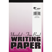 Cpp Paper, Writing, Fine Bond, Unruled, 100 Sheets