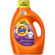 Tide Plus Febreze Freshness Spring and Renewal Scent HE Turbo Clean Liquid