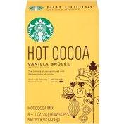 Starbucks Vanilla Brulee Hot Cocoa Mix