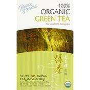 Prince of Peace Green Tea, 100% Organic, Bags