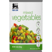 Food Lion Mixed Vegetables, Can