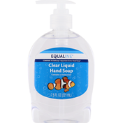 Equaline Hand Soap, Clear Liquid