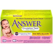 Answer Daily Tracker Ovulation Test