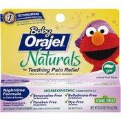 Orajel Naturals Nighttime Teething Gel Baby Teething Pain Relief
