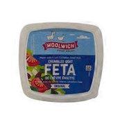 Woolwich Dairy Inc. Plain Goat Feta Cheese Crumbles