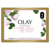 OLAY Notes Of Cooling White Strawberry & Mint Beauty Bar With