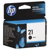 HP Ink Cartridge, Black 21