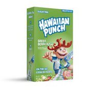 Hawaiian Punch Drink Mix, Green Berry Rush, On The Go