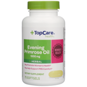 TopCare Evening Primrose Oil 1000 Mg May Promote Women'S Health Herbal Dietary Supplement Softgels