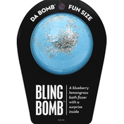 Da Bomb Bath Fizzer, Bling Bomb, Fun Size