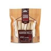 Good Lovin' Chicken Flavored Aggressive Rawhide Rolls Dog Chews