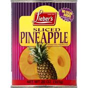Lieber's Pineapple, Sliced