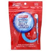 Colgate Mini-Brushes, Wisp, Peppermint
