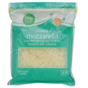Food Club Mozzarella Shredded Cheese